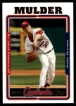 2005 Topps Update #84  Mark Mulder  Front Thumbnail