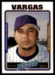 2005 Topps Update #29  Claudio Vargas  Front Thumbnail