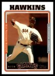 2005 Topps Update #46  LaTroy Hawkins  Front Thumbnail