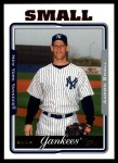 2005 Topps Update #31  Aaron Small  Front Thumbnail