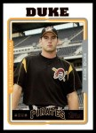 2005 Topps Update #38  Zach Duke  Front Thumbnail