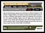 2005 Topps Update #117  Reggie Sanders   Back Thumbnail