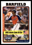 2005 Topps Update #218  Josh Barfield  Front Thumbnail