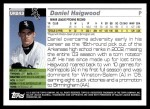 2005 Topps Update #243  Daniel Haigwood   Back Thumbnail