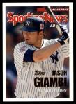 2005 Topps Update #167   -  Jason Giambi Comeback Front Thumbnail