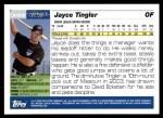 2005 Topps Update #308  Jayce Tingler   Back Thumbnail
