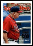 2005 Topps Update #172   -  Bobby Cox All-Star Front Thumbnail