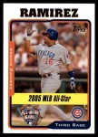 2005 Topps Update #190   -  Aramis Ramirez All-Star Front Thumbnail