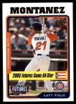2005 Topps Update #210  Luis Montanez  Front Thumbnail