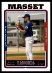 2005 Topps Update #250  Nick Masset   Front Thumbnail