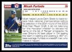 2005 Topps Update #296  Micah Furtado   Back Thumbnail