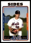 2005 Topps Update #275  Andy Sides   Front Thumbnail