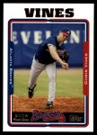 2005 Topps Update #229  Chris Vines   Front Thumbnail