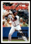 2005 Topps Update #174  Andruw Jones  Front Thumbnail
