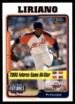 2005 Topps Update #211  Francisco Liriano  Front Thumbnail