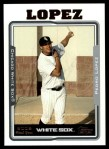 2005 Topps Update #251  Pedro Lopez   Front Thumbnail