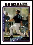 2005 Topps Update #298  Carlos Gonzalez   Front Thumbnail