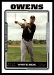2005 Topps Update #262  Jerry Owens   Front Thumbnail