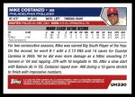 2005 Topps Update #330  Mike Costanzo  Back Thumbnail