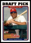 2005 Topps Update #330  Mike Costanzo  Front Thumbnail