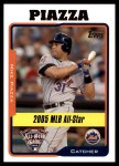2005 Topps Update #191   -  Mike Piazza All-Star Front Thumbnail