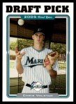 2005 Topps Update #321  Chris Volstad  Front Thumbnail