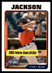 2005 Topps Update #214  Conor Jackson  Front Thumbnail
