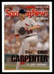 2005 Topps Update #170   -  Chris Carpenter All-Star Front Thumbnail