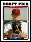 2005 Topps Update #312  Jered Weaver  Front Thumbnail