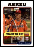 2005 Topps Update #195  Bobby Abreu  Front Thumbnail