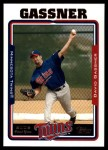 2005 Topps Update #295  David Gassner   Front Thumbnail