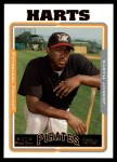 2005 Topps Update #254  Jeremy Harts   Front Thumbnail