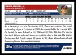 2005 Topps Update #326  Beau Jones  Back Thumbnail