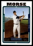 2005 Topps Update #224  Mike Morse   Front Thumbnail