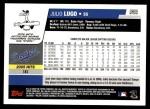 2006 Topps Update #55  Julio Lugo  Back Thumbnail