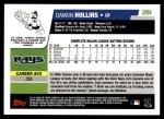 2006 Topps Update #94  Damon Hollins  Back Thumbnail