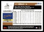 2006 Topps Update #112  Jeff Cirillo  Back Thumbnail