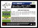 2006 Topps Update #147  Jamie Shields  Back Thumbnail