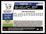 2006 Topps Update #148  Kevin Thompson  Back Thumbnail