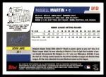 2006 Topps Update #158  Russ Martin  Back Thumbnail