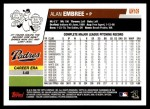 2006 Topps Update #109  Alan Embree  Back Thumbnail