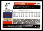 2006 Topps Update #1  Austin Kearns  Back Thumbnail