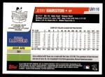 2006 Topps Update #116  Jerry Hairston Jr.  Back Thumbnail