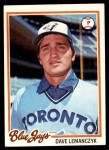1978 Topps #33  Dave Lemanczyk  Front Thumbnail