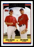 2006 Topps Update #330  Jered Weaver / Jeff Weaver  Front Thumbnail
