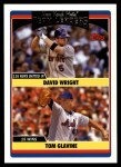 2006 Topps Update #291   -  David Wright / Tom Glavine Mets Team Leaders Front Thumbnail