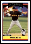 2006 Topps Update #219   -  Derek Jeter All-Star Front Thumbnail