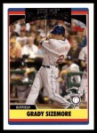 2006 Topps Update #240   -  Grady Sizemore All-Star Front Thumbnail
