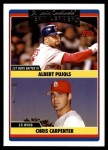 2006 Topps Update #296   -  Albert Pujols / Chris Carpenter Cardinals Team Leaders Front Thumbnail