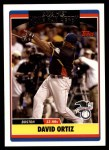 2006 Topps Update #286  David Ortiz  Front Thumbnail